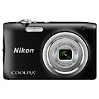 more details on Nikon Coolpix A100 20MP 5x Zoom Compact Camera - Black.