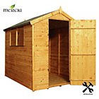 more details on Mercia Shiplap Apex Wooden Shed Installation Included-7x5ft.