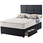 more details on Silentnight Denham Miracoil 5 Ortho Kingsize 2 Drw Divan.