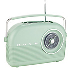 more details on Bush Retro DAB Radio - Sage Green.