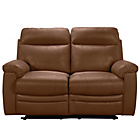 more details on Collection New Paolo 2 Seater Manual Recliner Sofa - Tan.