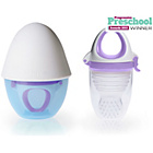 more details on Kidsme Food Feeder Plus with Silicone Grinder - Lavender.