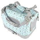 more details on Me to You Blue Canvas Pet Carrier - Small.