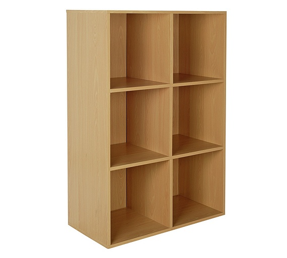buy home phoenix 6 cube storage unit beech at. Black Bedroom Furniture Sets. Home Design Ideas