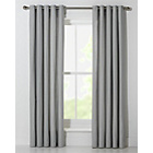 more details on ColourMatch Lima Unlined Eyelet Curtains 168x229cm Dove Grey