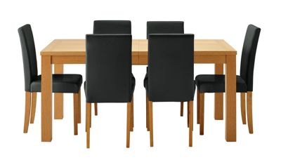 Buy HOME Hemsley Extendable Dining Table and 6 Chairs  : 4827928RSETTMBampwid620amphei620 from www.argos.co.uk size 620 x 620 jpeg 19kB