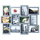 more details on Premier Housewares 12 Print Aperture Photo Frame - Grey.