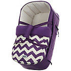 more details on Obaby Zeal Carrycot - ZigZag Purple.