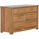 more details on Schreiber Harbury 6 Drawer Dresser - Oak.