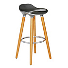more details on Hygena Bay Bar Stool - Silver.