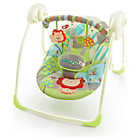 more details on Bright Starts Up, Up & Away Portable Swing.