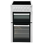 more details on Beko BDC5422 Twin Cavity Electric Cooker - White.