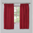 more details on ColourMatch Kids' Poppy Red Blackout Curtains - 168 x 137cm.