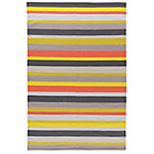 more details on Habitat Candy Stripe Cotton Rug - 120x180cm.