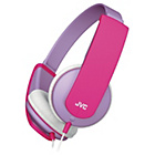 more details on JVC Tinyphones Kids Headphones - Lilac and Pink.