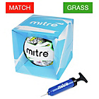 more details on Mitre Delta League Football with Pump and Gift Box
