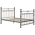 more details on Schreiber Canford Nickle Kingsize Bed Frame.