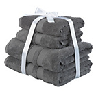 more details on Heart Of House Egyptian Cotton Bale - Charcoal.