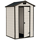 more details on Keter Deisgner Apex Designer Garden Shed - 4 x 3ft.