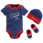 more details on Converse Blue 3 Piece Gift Set - 0-6 Months.
