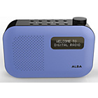 more details on Alba Mono DAB Radio - Blue.