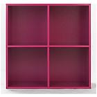 more details on Phoenix 2x2 Cube Storage Unit - Pink.