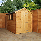 more details on Mercia Shiplap Apex Wooden Garden Shed 7 x 5ft.