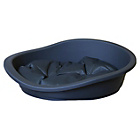 more details on Plastic Large Dog Bed with Mucky Mattress - Grey.