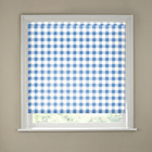 more details on 6ft Blue Gingham Kitchen Roller Blind.