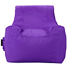 more details on LargeTeenager Beanbag - Purple.