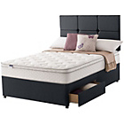 more details on Silentnight Denham Miracoil 5 Memory Double 2 Drw Divan.