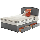 more details on Sealy Repose Cushion Top Superking 4 Drawer Divan.