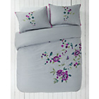 more details on Heart of House Anya Grey Bedding Set - Kingsize.