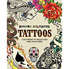 more details on Inspired Colouring Adult Colouring Book - Tattoos.