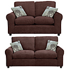 more details on Tessa Large and Regular Sofa - Chocolate.