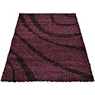 more details on Verve Waves Rug 120x170cm - Plum.