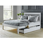 more details on Aspley Small Double Bed Frame - White.