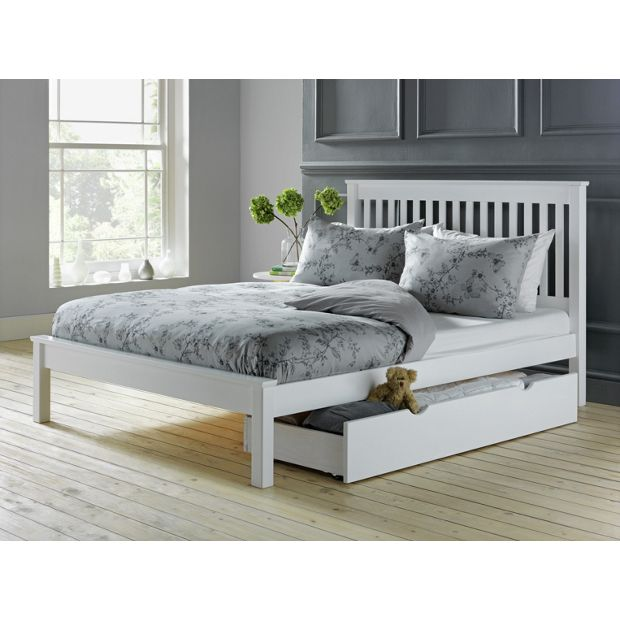 Buy Collection Aspley Small Double Bed Frame White At Your Online Shop For Bed
