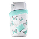 more details on Butterfly Blue Bedding Set Bundle - Single.