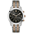 more details on Bulova Mens' Two Tone Chrono Stainless Steel Bracelet Watch.