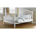 more details on Newbridge Double Bed Frame - White.