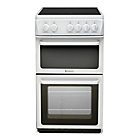 more details on Hotpoint HAE51P Twin Cavity Electric Cooker - White.