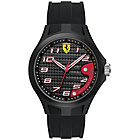 more details on Scuderia Ferrari Men's Lap Time Black Dial Strap Watch.