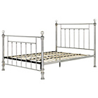 more details on Schreiber Bourton Chrome + Crystal Double Bed Frame.