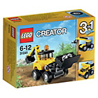 more details on LEGO Construction Vehicles - 31041.