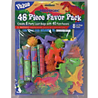 more details on Dinosaurs 48 Piece Party Favours Pack.