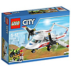 more details on LEGO City Ambulance Plane - 60116.