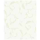 more details on Superfresco Colours Athena Wallpaper - White and Gold.