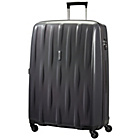 more details on American Tourister 4 Wheel Large Graphite Suitcase - Black.