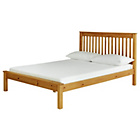 more details on Aspley Kingsize Bed Frame - Oak Stain.